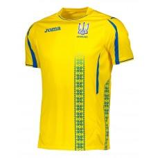 Игровая футболка сборной Украины по футболу Joma (желтая) FFU101011C17