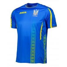 Игровая футболка сборной Украины по футболу Joma (синяя) FFU101012C17