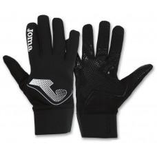 Футбольные зимние перчатки черные Joma 400024.100